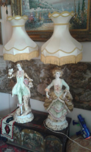 Lampes Capodimonte. Made in Italy.