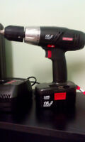 Craftsman Cordless Drill and Worklight