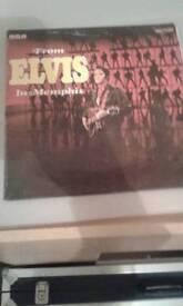 Elvis in menphis original excellent 1969 ,£3