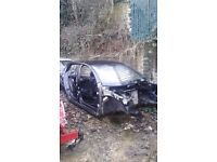 MK6 VW GOLF 5 DOOR HATCHBACK BARE SHELL IN BLACK SPARES OR REPAIR