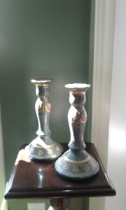 Set of Two VintageToyo Candle Holders
