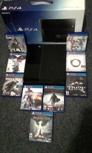 Ps4 with 15 games bundle