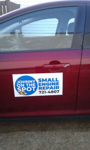 !! JOHNNY ON THE SPOT SMALL ENGINE REPAIRS 721-4807 !!