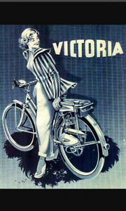 "Victoria ""Vicky"" (non motorized)FM38 bicycle (approx 1949)"