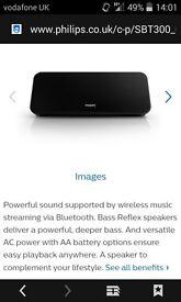 philips wireless speaker / bluethooth