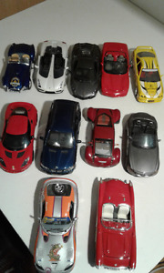 1/24 scale die-cast car collection