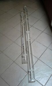1 Tringle 200 cm et 1 tringle 140 cm IKEA