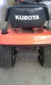 Kabota lawntractor and snow blower Cambridge Kitchener Area image 3