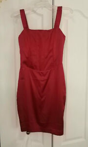 GUESS by MARCIANO Satin red dress