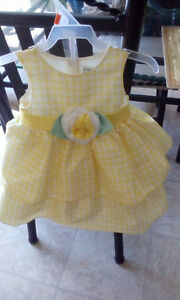 baby girl clothing 3-6 months and 6-12 months 12-18 months