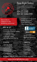 BEST RATES IN THE TOWN, CONCRETE-CUTTING & REMOVAL CONTRACTOR