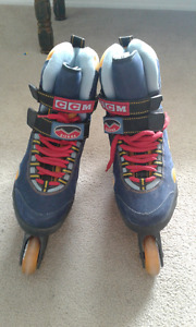 Men's roller blades size 11 / CCM brand / as new