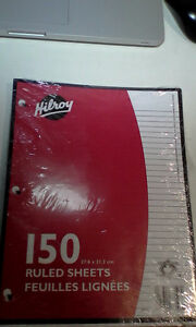 Hilroy 150 Sheets of Lined Paper