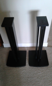 2  Wood Speaker Stands