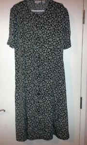 New XL Long Black Dress