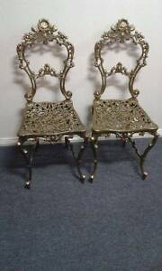 Ornate Chairs $70ea Maiden Gully Bendigo City Preview