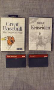 Jeux Sega Master System à vendre ou échanger