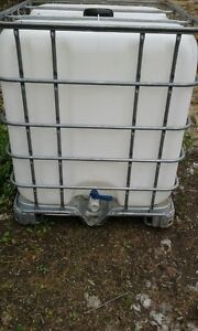 1000 l water tote and adapter