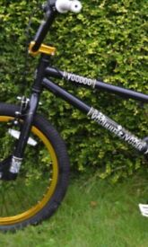 bmx voodoo black and gold