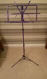 Folding Music Stand & bag