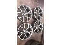 """Vauxhall vxr 18""""×8"""" alloys 5×105"""