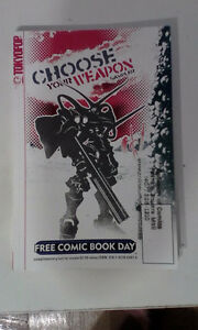 Choose Your Weapon Sampler manga/graphic novel collection