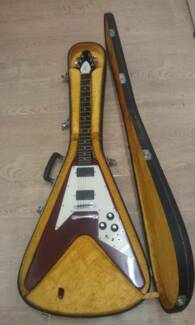 1975 GRECO FLYING V CHERRY RED SPECIAL Newcastle 2300 Newcastle Area Preview