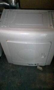 apartment sized washer and dryer with all attachments