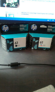 Brand New HP 61 Black and Colour Ink Cartridges