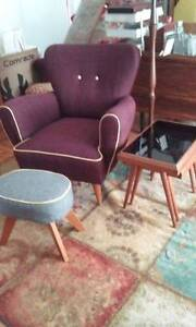 Midcentury Modern Original Coctail marmchair, Parker era, Dee Why Manly Area Preview