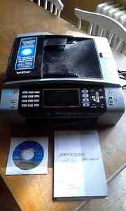 Brother Wireless Colour Inkject Printer MFC-490CW Peterborough Peterborough Area image 1