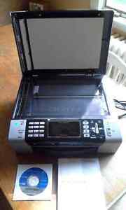 Brother Wireless Colour Inkject Printer MFC-490CW Peterborough Peterborough Area image 2