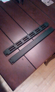 "(2) RACKMOUNT ESPACEUR (SPACER) 19"" POUR RACK AMPLIS & EFFECTS"