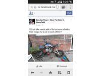 120 pit bike