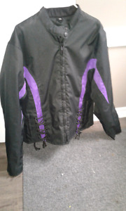 Womans motorcycle jacket
