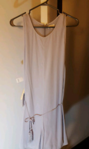 Aritzia Wilfred Rayana Romper Dusted Lavender BNWT Small