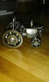 Scrap art tractor
