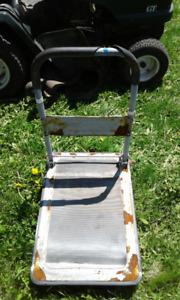 four   wheel foldable cart