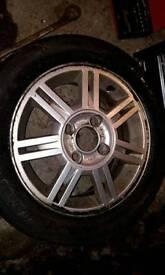 Ford focus Mk1 mk2 alloys x4