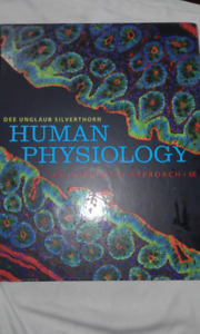 Human Physiology : An integrated Approach. 6th  edition