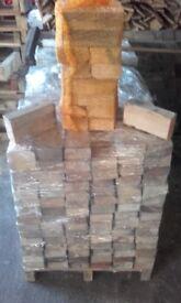 Hardwood firewood bags