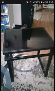 Table and two end tables