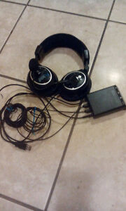 Fikly equiped thrtle bea h ganubg headset
