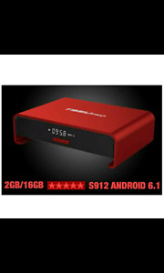 ANDROID BOXES 2GB &3GB SUPER FAST WITH THE NEW S912 CHIP
