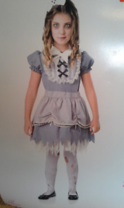 Ghostly Girl / Zombie Doll Costume