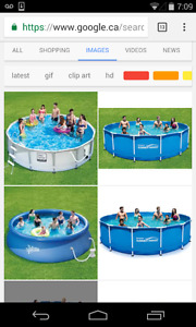 Looking for a pool