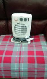 De longhue 2.4kw upright fan heater