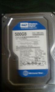 500GB Western Digital Sata Desktop Harddrive