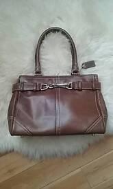 Ladies Coach leather bag