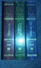 Lord of The Rings Trilogy - special extended edition